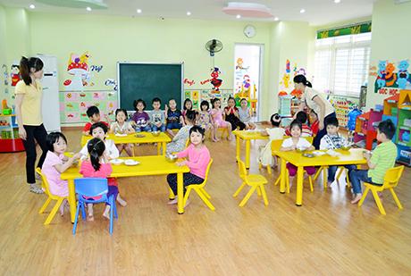 Trường Mầm non Sơn Ca Ngọc Trâm tuyển giáo viên mầm non