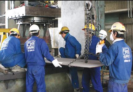 Việc làm nghệ an: tuyển thợ cơ khí, thợ đúc