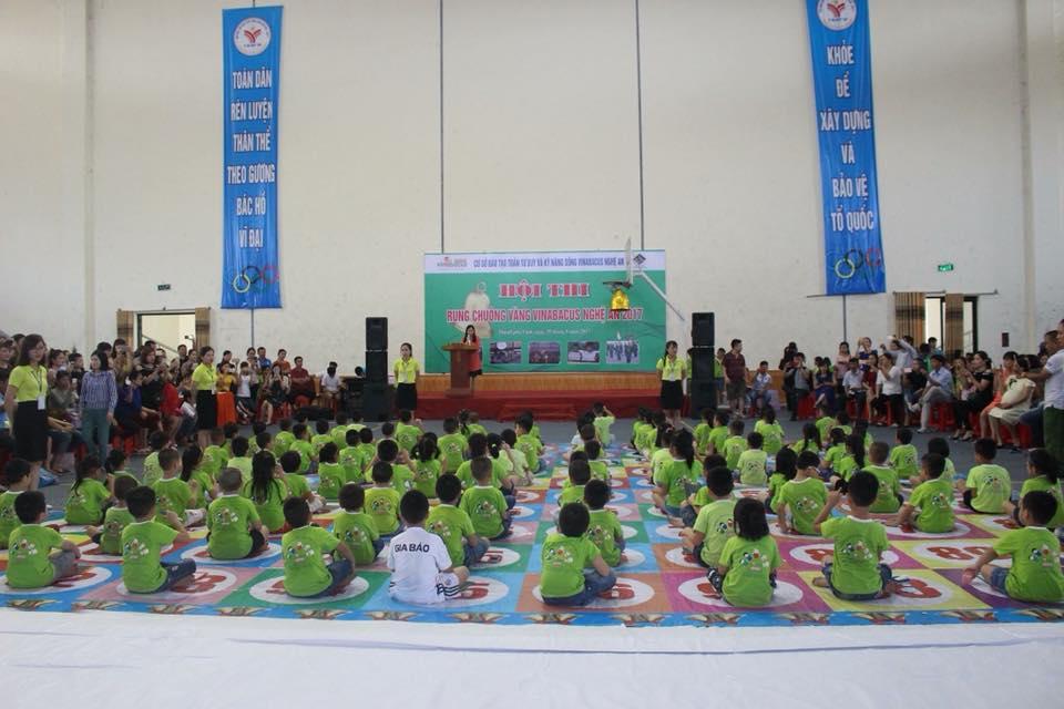 Vinakid Nam Đàn tuyển giáo viên mầm non tại Nam Đàn Nghệ An
