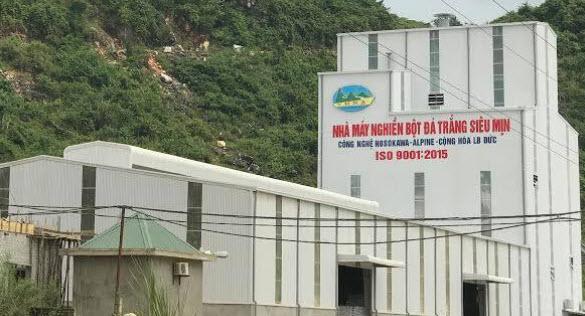Nhà máy nghiền bột đá tại Quỳ Hợp- Nghệ An tuyển lao động phổ thông và kỹ sư khai thác mỏ lộ thiên