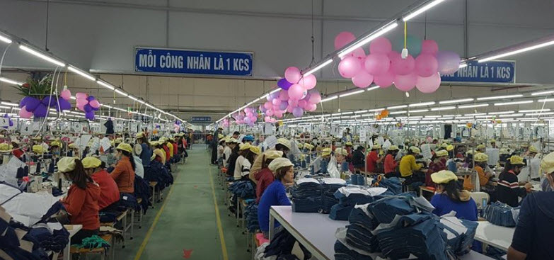 Công ty May Minh Anh Đô Lương tuyển công nhân