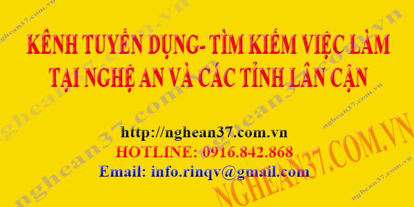 kênh việc làm tại Nghệ An