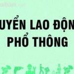 TUYỂN LAO ĐỘNG PHỔ THÔNG – TÔN THÉP LONG SƠN