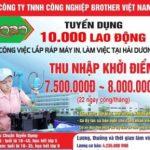 Hội đồng hương Nghệ An tuyển 10000 lao động tại Hải Dương
