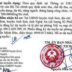 UBND huyện Anh Sơn, Nghệ An tuyển dụng viên chức năm 2020