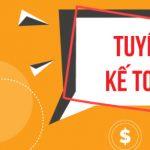 Công ty TNHH Dịch Vụ SKYONE tuyển nhân viên kế toán