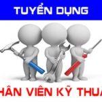 Công ty CPTM QT Bông Sen Vàng tuyển nhân viên kỹ thuật
