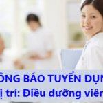 Công ty TNHH Đầu Tư Và Dịch Vụ Thương Mại Thái Dương tuyển nhân viên điều dưỡng