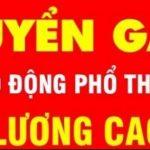 Công Ty TNHH Thép Huy Bình Tuyển Lao Động Phổ Thông