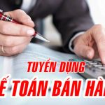 Công ty TNHH Phúc An Tuyển kế toán bán hàng