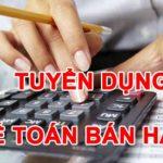 Công ty TNHH thương mại và dịch vụ Giang Thuận Tuyển Nhân viên kế toán bán hàng