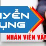 Công Ty Tnhh Thương Mại Và Dịch Vụ Kính Việt Anh Tuyển nhân viên văn phòng
